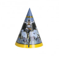 Cappello cono Batman 8 pz