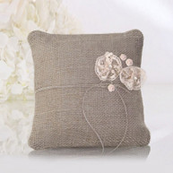 COUNTRY CHIC RING PILLOW
