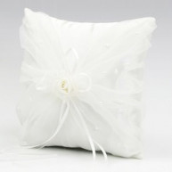 WEDDING RING PILLOW - FLOWER