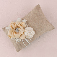 WEDDING RING PILLOW NATURAL LOVE