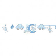 Festone decorativo baby boy