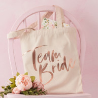 Borsa di tela team bride