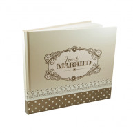 CHIC GUEST BOOK - GOLD
