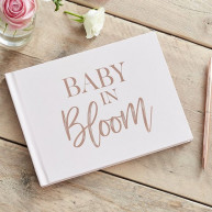 Guest book baby bloom
