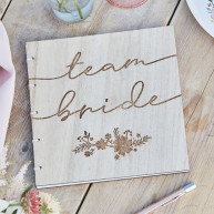 Guest Book team bride fiori di campo
