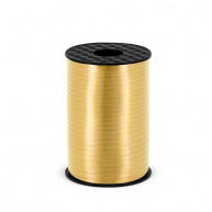 Nastro plastificato oro 5 mm