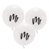 Large balloon mr 3 pieces