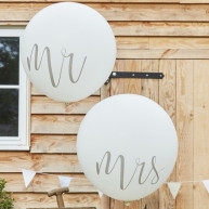 Palloncini maxi mr e mrs
