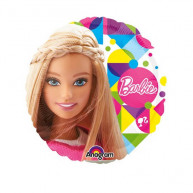 "Pallone foil Mini 9"" Barbie"