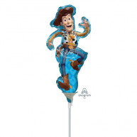 Pallone foil Minishape Toy Story 4 Woody