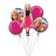 Bouquet 5 palloni Barbie 5 pz