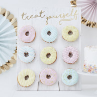 Party stand donuts