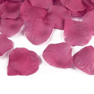100 PURPLE CLOTH PETALS