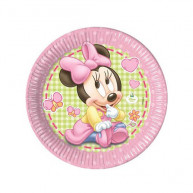 Piatto Grande Baby Minnie 8 pz