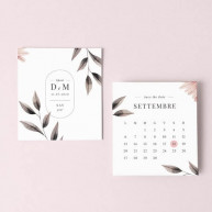 Save the date blush
