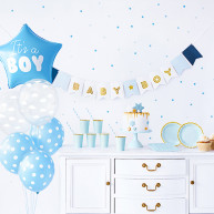 Set baby shower blu 49 pezzi