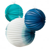 DECORATIVE SPHERES SEA 3 PCS