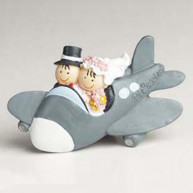 12 MAGNET BRIDE AND GROOM ON AIRPLANE