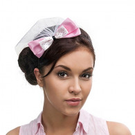 PHOTO BOOTH - PINK BOW HAIRBAND