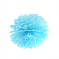 LIGHT BLUE POM-POM