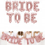 Palloncino Bride to be rosa gold