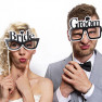 PHOTO BOOTH - NEWLYWEDS GLASSES