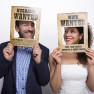 PHOTO BOOTH WANTED 2 PCS